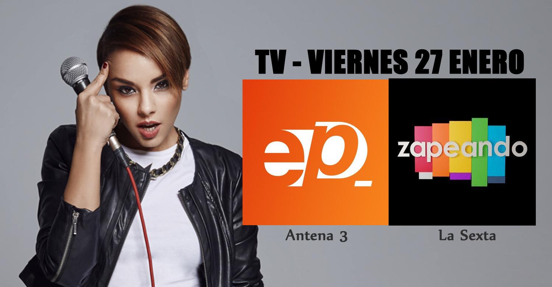 Chenoa visita 39 espejo p blico 39 antena 3 y 39 zapeando 39 la for Antena 3 espejo publico hoy