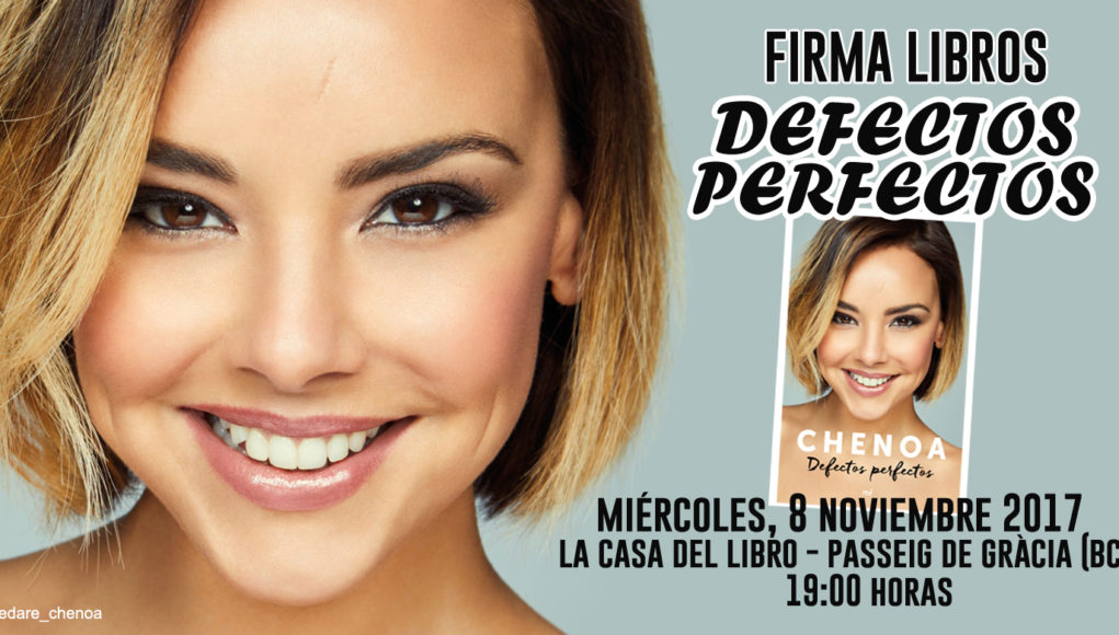 Chenoa firmar defectos perfectos el 8 de noviembre en barcelona yo te dare club de fans - Casa del libro barcelona passeig de gracia ...